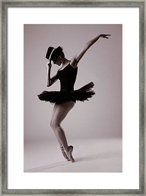 Michael On Pointe Framed Print