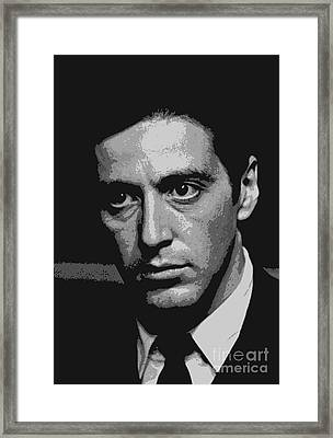 Michael  Framed Print by Pd