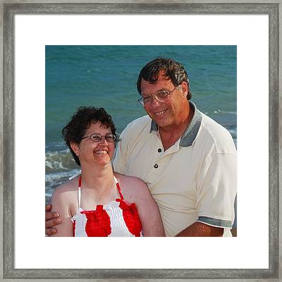 Michael  Peychich And His Sweetheart Framed Print by Michael Peychich