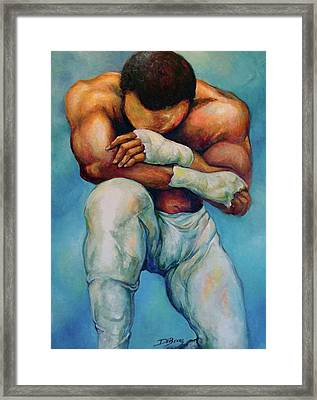 Michael The Print Framed Print by Lloyd DeBerry