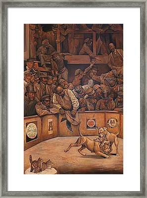 Michael Vick Framed Print by Curtis James