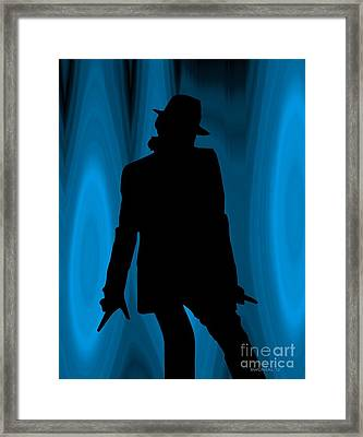 Michael Framed Print by Walter Oliver Neal