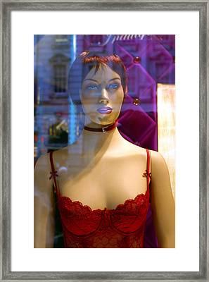 Michaela Framed Print by Jez C Self