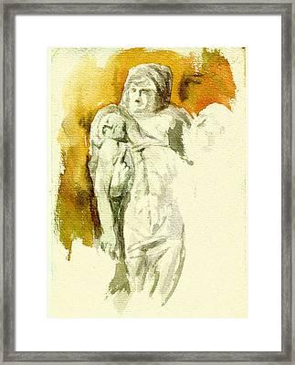 Michaelangelos Palestrina Pieta Framed Print