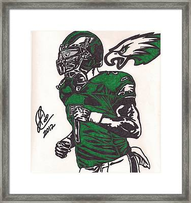 Micheal Vick Framed Print by Jeremiah Colley