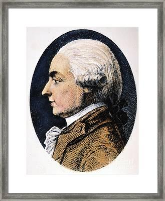 Michel G.j. De Crevecoeur Framed Print by Granger