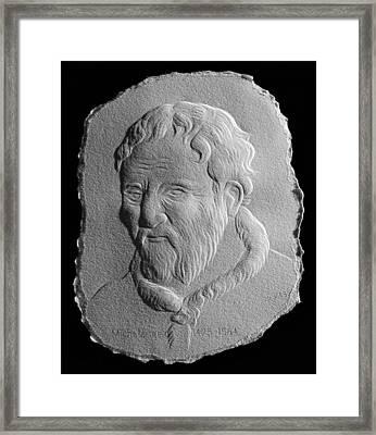 Michelangelo Framed Print by Suhas Tavkar