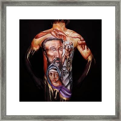 Michelangelo_i Framed Print by Cully Firmin