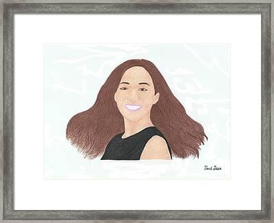 Michelle Phan Framed Print