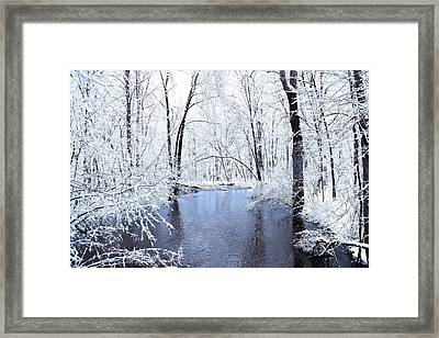 Michgan Winter 10 Framed Print by Scott Hovind
