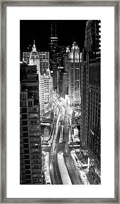 Michigan Avenue Framed Print