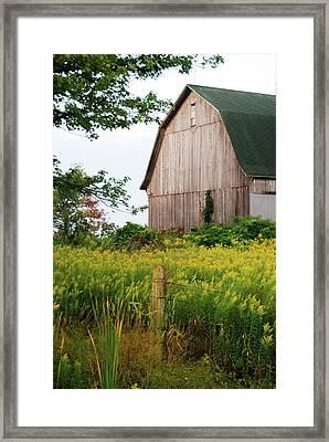 Michigan Barn Framed Print