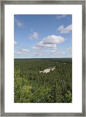 Michigan Tranquility Framed Print by Robert Babler
