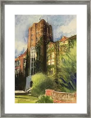 Michigan Union Framed Print