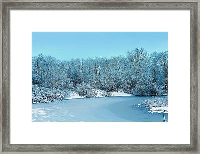 Michigan Winter 6 Framed Print by Scott Hovind