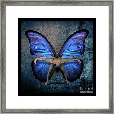 Mick Blue  Framed Print