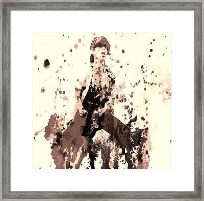 Mick Jagger 03e Framed Print
