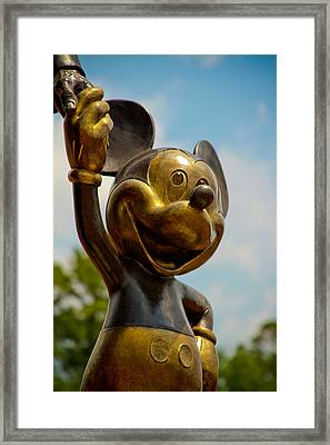 Mickey And Walty Framed Print by Andy Spliethof