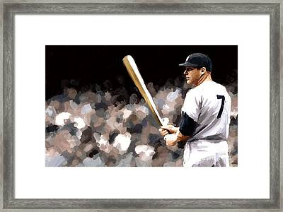 Mickey Mantle Signed Prints Available At Laartwork.com Coupon Code Kodak Framed Print