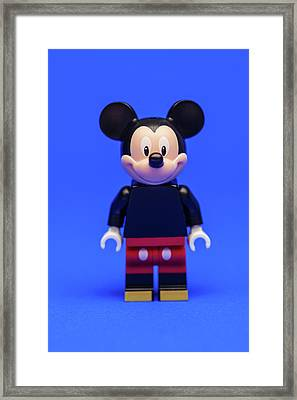 Mickey Mouse Framed Print by Samuel Whitton
