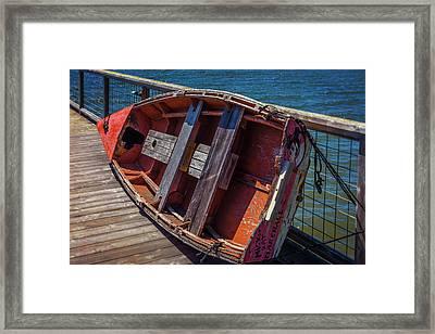 Mickey Rat Row Boat Framed Print