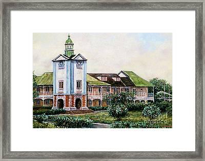 Mico University College Framed Print