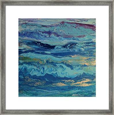 Micro Expressions Series #8 Framed Print