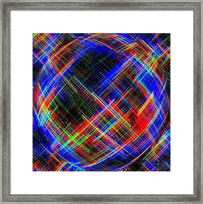 Micro Linear 21 Framed Print by Will Borden