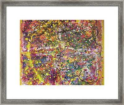 Micro View Framed Print by Ruth Beckel