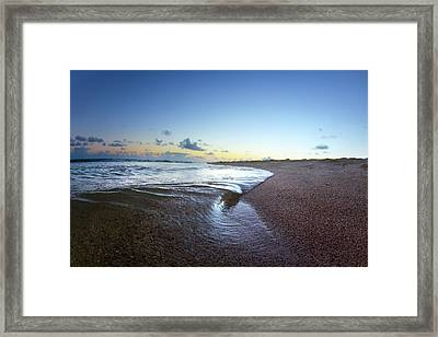 Micro Wave Framed Print