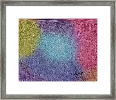 Microbes Framed Print by Anthony Caruso
