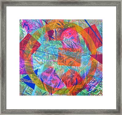 Microcosm Iv Framed Print