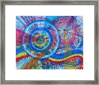 Microcosm V Framed Print by Rollin Kocsis