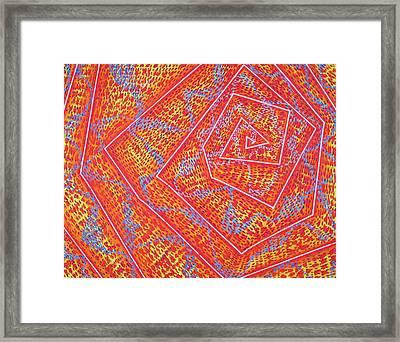 Microcosm Vii Framed Print by Rollin Kocsis