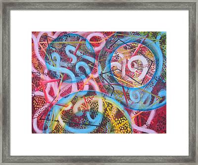 Microcosm Xii Framed Print by Rollin Kocsis