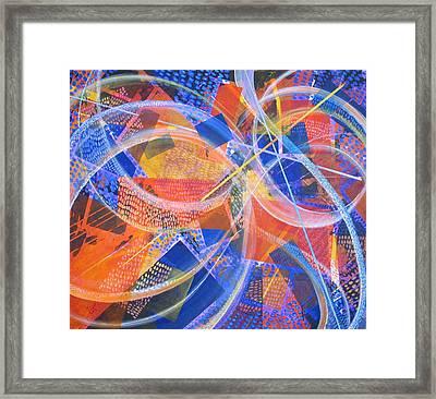 Microcosm Xiii Framed Print by Rollin Kocsis