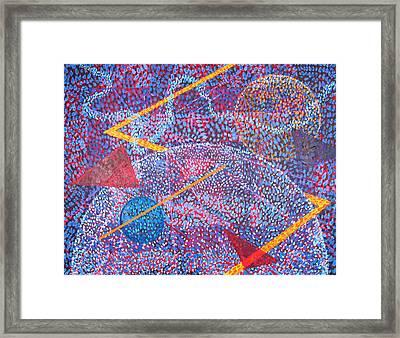Microcosm Xv Framed Print by Rollin Kocsis