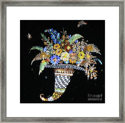 Micromosaic By Henry Dalton Framed Print by The Harrington Collection