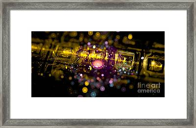 Microscopic Viii - It Framed Print by Sandra Hoefer