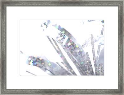 Microtinsel Framed Print