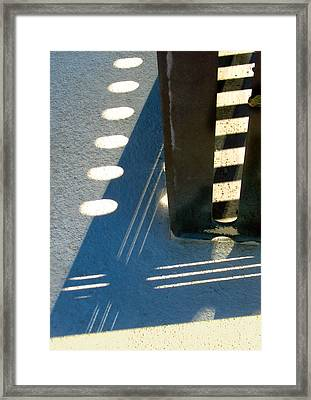 Mid Century Corner Framed Print
