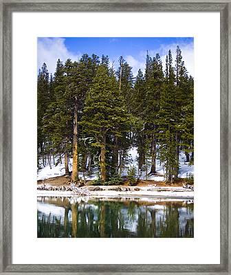 Mid Day Melt Framed Print by Chris Brannen