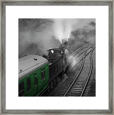 Mid Hants Railway ,hampshire, England. Framed Print by Philip Enticknap