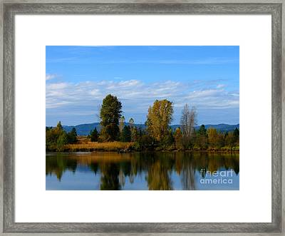 Mid Morning Coffee Framed Print