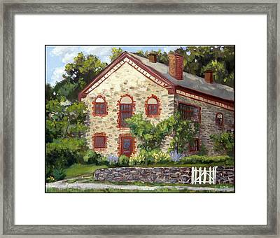 Mid-summer Morning Framed Print by Edward Williams