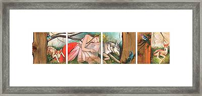Mid-summers Day Dream Framed Print by Jacque Hudson