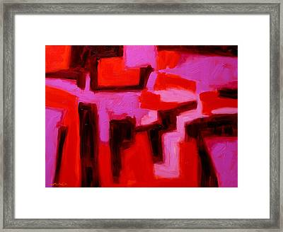 Mid Summers Day Framed Print by John  Nolan