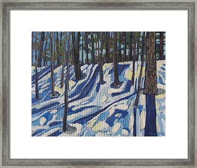 Midday At Jones Creek Framed Print by Phil Chadwick