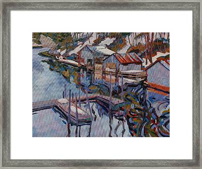 Midday Outlet Framed Print by Phil Chadwick