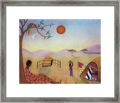 Midday Sun Framed Print by Sally Appleby